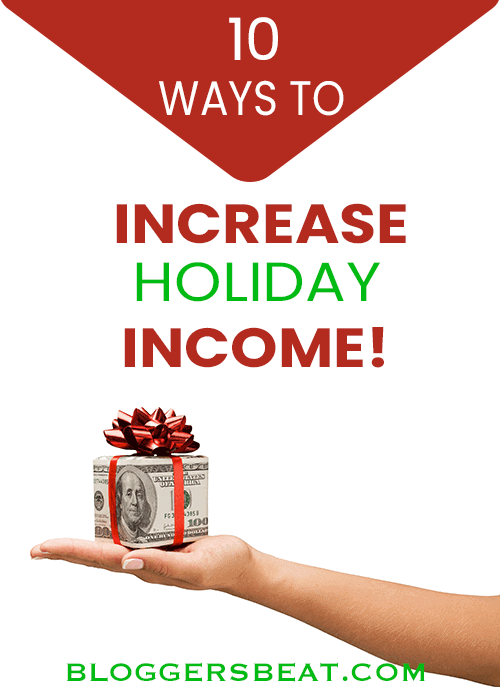 increase holiday income pin
