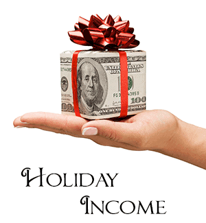 increase holiday income