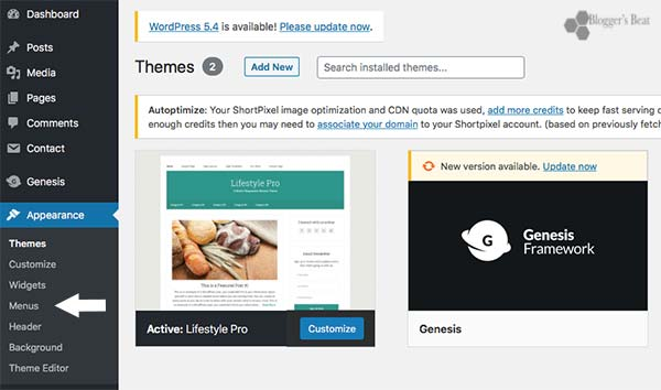 Add Nofollow Navigation Links In WordPress